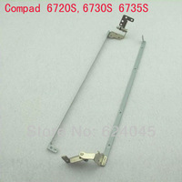free shipping. New LCD disply hinges for HP compad 672o series,Left and right per pair