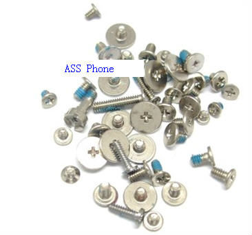 FULL SCREW SET REPLACEMENT FOR IPHONE 5 54 PIECES & Freeshipping(China (Mainland))