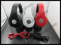 Hot sale DJ headphone studio with ControlTalk  fashion 2012 middle studio earphones headset  in sealed box Free shipping