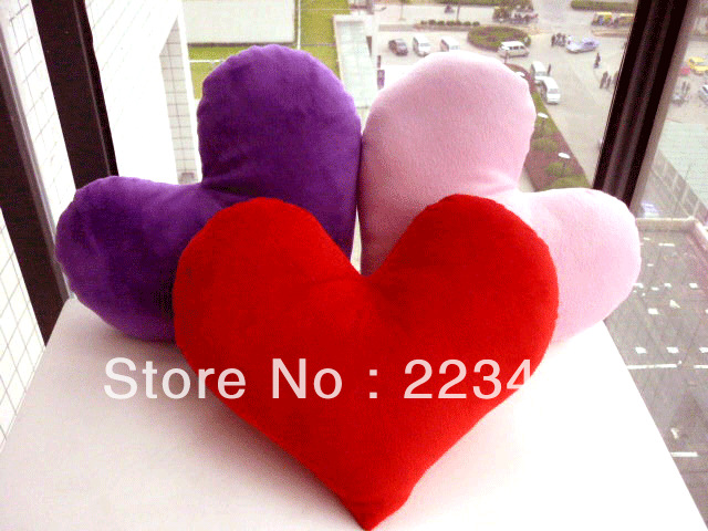 M&#39;lele Cushion love pillow heart gift heart pillow lovers pillow(China (Mainland))