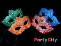 Top Quality 100% handmade lace rhinestone Masquerade mask venetian mask halloween mask,3pcs per lot