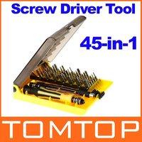 Professional 45-in-1 Hardware Screw Driver Tool Kit JK-6089C, Freeshipping Dropshipping Wholesale