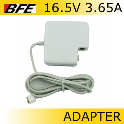60W 16.5V 3.65A LAPTOP CHARGER AC ADAPTER POWER SUPPLY LEAD FOR APPLE MAC BOOK PRO A1184(China (Mainland))