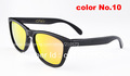 Vintage Trendsetter Black Frame OK Frogskins Sunglasses Daily Goggles Brand Colorful Glasses Outdoor Sport Rock Hip Hop Eyewear
