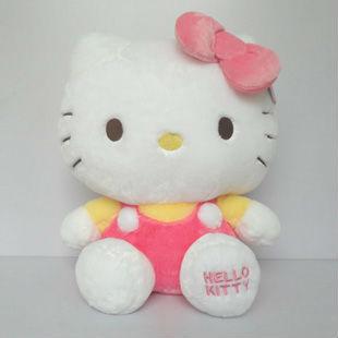 "12""Hello Kitty  Plush Doll Cute Cartoon toy Red"