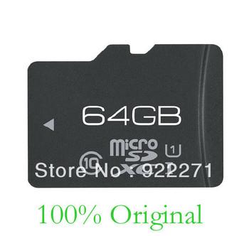 New 64GB TF Card Real 64G 64 G Micro SD HC TF Card MICROSDHC 64GB Memory Card CLASS 10 Free shipping