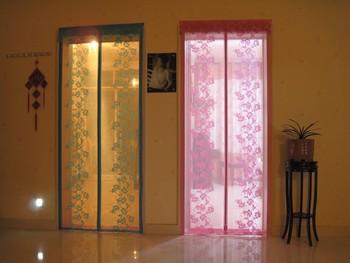 Fuya magnetic soft screen door magnetic stripe mosquito curtain magnetic screen door curtain mosquito screen door