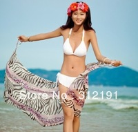 wrap skirt Beach cover up sarong sexy swim cover up free shipping 2013 new style summer strip style