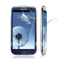 Free Shipping 10X New CLEAR LCD Screen Protector Guard Cover Film For Samsung Galaxy S III S3 i9300