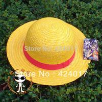 2013 NEW Japanese Anime Pirate Boy Luffy Straw Cap Hat Cosplay