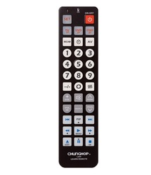 7 in1 Multifunctional Universal Learning Remote Control Chunghop L309 For TV CBL CD LD VCR SAT DVD 2*AA Battery Free Shipping(China (Mainland))