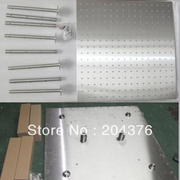 luxury bath faucet square rain shower head set,save water