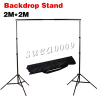 Photography 2m*2m Backdrop Stand Background Support System with Carrying Bag kit + Free Shipping