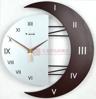 Free Shipping Modern decoration wall clocks silent watch personalized clock brief pocket watch fashion wall clock modern design