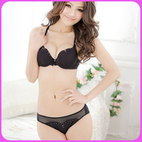 NEW ARRIVAL Hot Sale Sexy Women Lingerie Suits Fashion Bra Front Closure Solid Color Softest Sexy Set  Wholesale&Retail 9088T