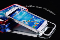 10PC/Lots DHL Free Top Quality Tank Aluminium Bumper For Galaxy S4 I9500 +Screen Protector