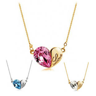 Popular accessories letter necklace - 4257