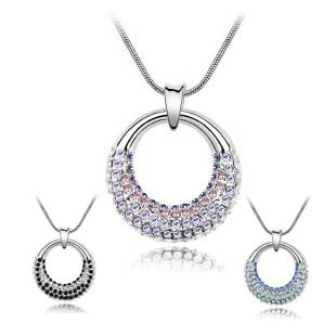 Austria crystal necklace moonlight 4169 -