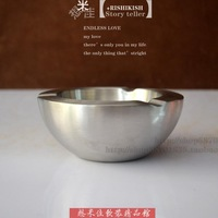 Ashtray silver color decoration ashtray home decoration articles for daily use