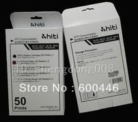 free shipping original  Photo paper used for hiti  630pl 630id 640id sublimation printer print photo paper 50 print