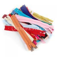 Free Shipping 50pcs / Lot Nylon Zipper Wholesale - 7 Inch
