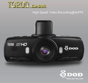 Full HD 1080P DOD TG200 Super High Definition Car DVR Dashboard Camera