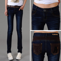 New arrival 2013 trousers radish elastic pencil pants plus size female skinny jeans pants