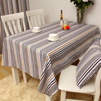 Reactive print customize old coarse table cloth dining table cloth tablecloth rustic color fabric