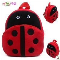 Free shiiping Children plush schoolbag preschool children's school bags little girl backpack Nursery Preschool small bag
