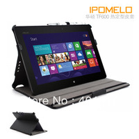 Handhold Leather Cover Case for Asus VivoTab RT TF600T free air mail
