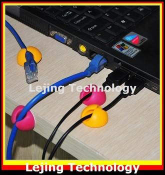 Free Shipping 6 pcs multi-functional line card desktop solid clip color random