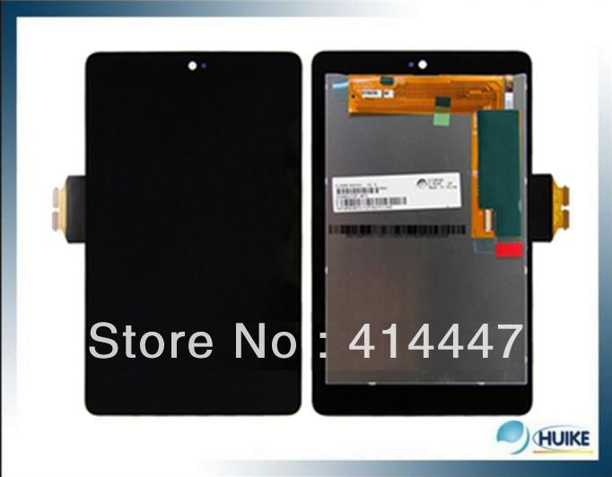 DHL EMS 10pcs/lot Lifetime Warranty 100% Original For ASUS Google Nexus 7 LCD Display Screen Touch Screen digitizer Assembly(China (Mainland))