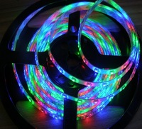 5M 150-SMD 5050 LED flexi-strip light RGB waterproof ,12V DC free shipping