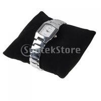 Free Shipping 5 Pcs Black Velvet Bracelet Watch Jewelry Pillow Display