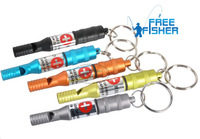 2 pcs Emergency Whistles Aluminum Alloy First Aid