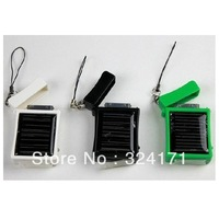 Free Shipping 12pcs/lot MD968 Solar Charger for iPhone iPod iTouch, Solar Charger for mobile phone, portable solar charger