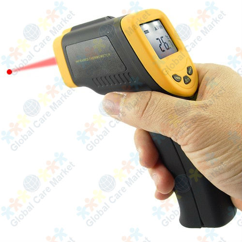 Infrared Digital Thermometer Gun with Laser Sight for Equipment(China (Mainland))