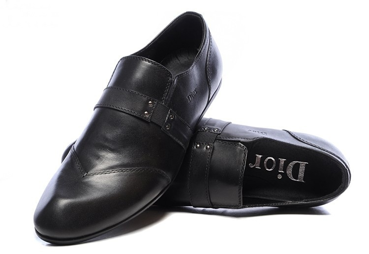 luxury simple design black leather men dress shoes autumnal/spring men work shoes high quality free shipping(China (Mainland))
