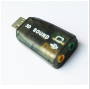 Encoding 5.1 audio usb sound card notebook desktop sound card usb sound card belt chip(China (Mainland))