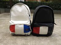 Leather backpack preppy style backpack travel bag for middle school students school bag 14 laptop bag