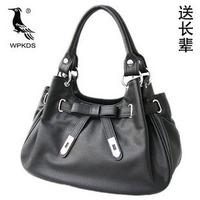 Woodpecker wpkds the elderly women's genuine leather handbag cowhide handbag one shoulder mother bag