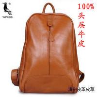 Genuine leather female women's backpack handbag travel bag backpack trend school bag leather bag