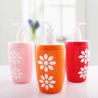 Acrylic double layer bottle hand sanitizer soap shower gel pressure bottle mouth 300ml