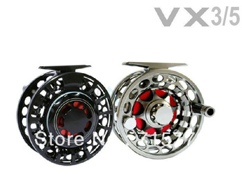 100% Waterproof Sealed Saltwater Fly Fishing Reels VX 3/5
