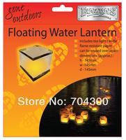 Wishing water River paper candle light Chinese lanterns Floating water lanterns