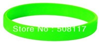 DHL Free shipping 500PCS/lot  glow in the dark product,silicone bracelet glow in the darkness