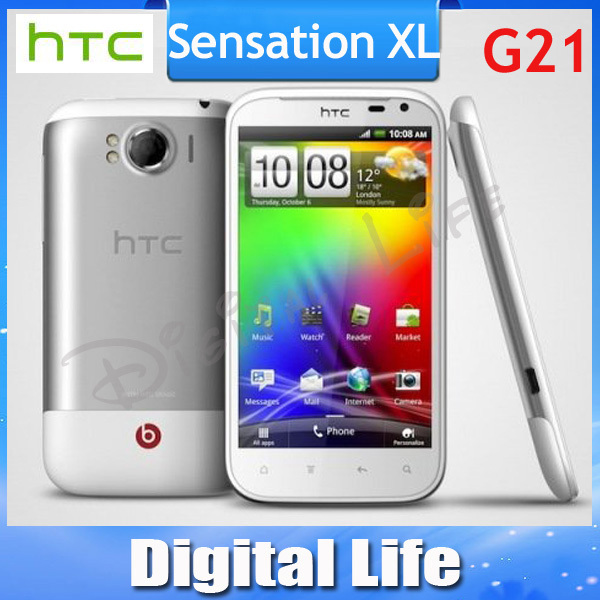 Original HTC Sensation XL X350e G21 Android 3G 8MP GPS WIFI 4.7''TouchScreen Unlocked Mobile Phone(China (Mainland))