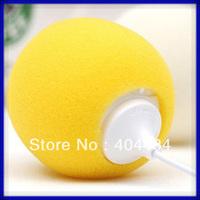 stylish 3.5mm  ballon speaker with MIC mini  ball pattern speaker multi- colors to choose 30pcs/lot free shipping