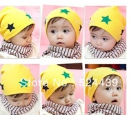 free shipping New style wholesale fashion baby hat baby cap baby star hat infant hat infant cap headress good quality