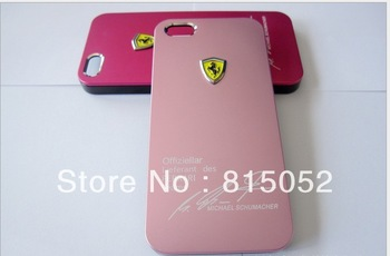 20pcs/lot Sports car matte shell cover for Iphone 5  free shipping